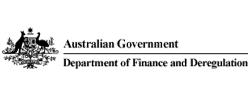 Department of Finance & Deregulation (DFD) Logo
