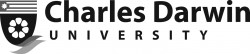 Charles Darwin University (CDU) (Horizontal Black) Logo