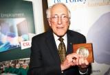2011 CSL Florey Medalist Prof Graeme Clark      Photo: Arthur Mostead