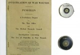 Signed Howard Florey Paper and Penicillin petrie dishes