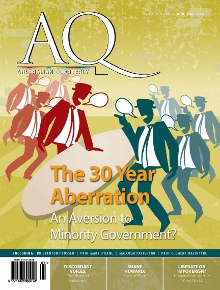 AQ 87.2 Apr-Jun 2016 Cover