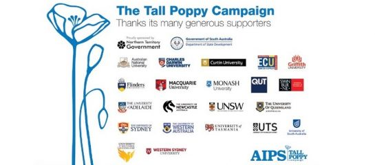2019 Tall Poppy Nominations Open